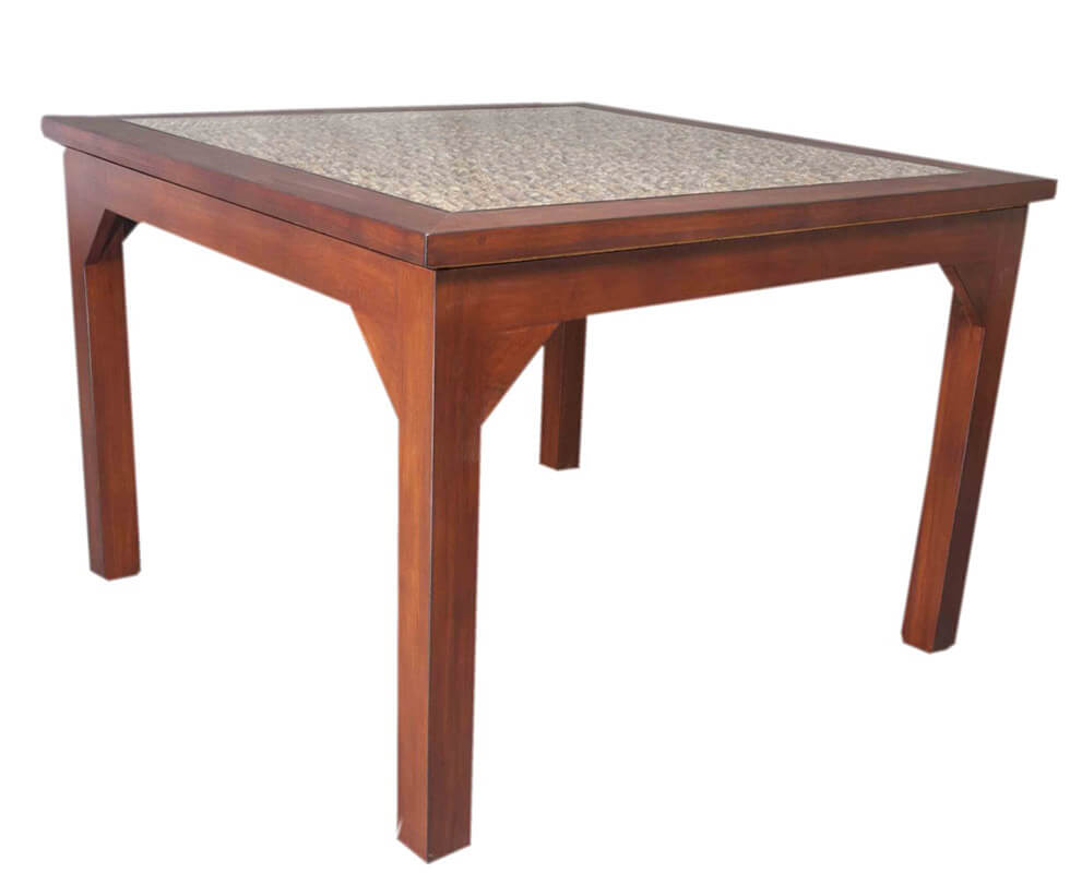 Natural Rope Dining Table for 6