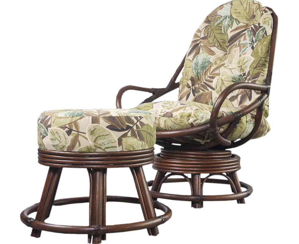 Roker Lounge Chair and ottoman