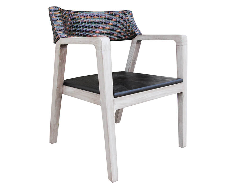 Soho Chair With Wood Seat