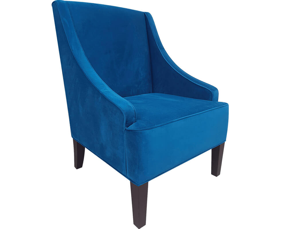 Baxton wing lounge chair